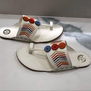 Tory Burch Shoes - Beautiful tory burch woven canyon sandal